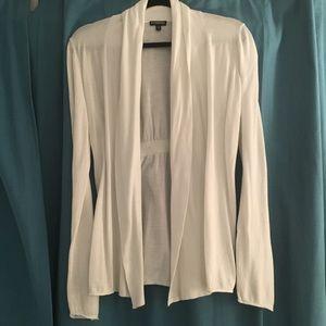White Express Cardigan - size M